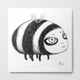 Fly, Bumblebee, Fly! Metal Print