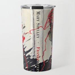 Frankenstein by Mary Shelley Version 2 Travel Mug