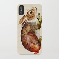 bunny iPhone & iPod Cases featuring Bunny by TatiAbaurreDesigns
