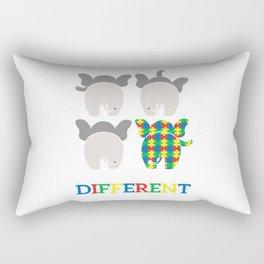 Autism Elephant Awareness Gift For Autistic Child Rectangular Pillow