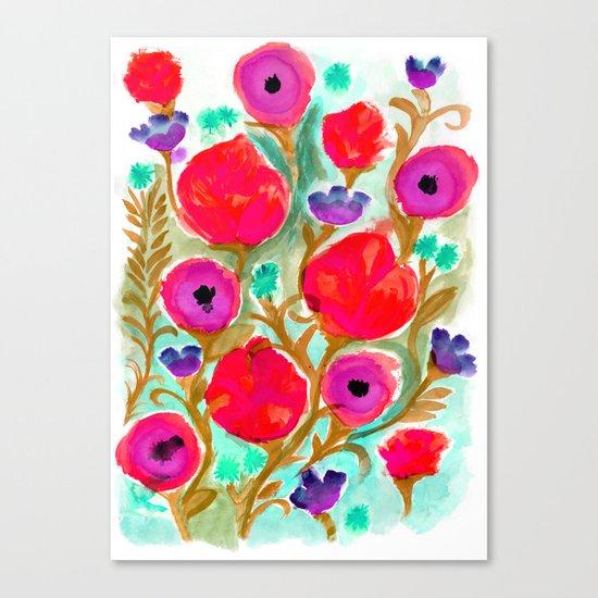 Fiona Flower Canvas Print