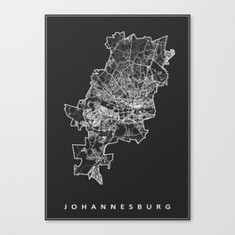 JOHANNESBURG Canvas Print