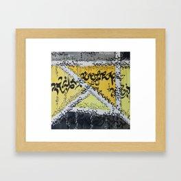 New Alphabet 22 Framed Art Print