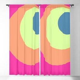Artemis - Classic Retro Summer Style Design Blackout Curtain