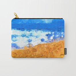 Abstract Landscape 1 Version 1 Carry-All Pouch