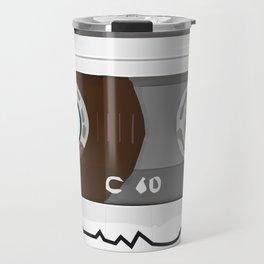 The cassette tape Robot Travel Mug