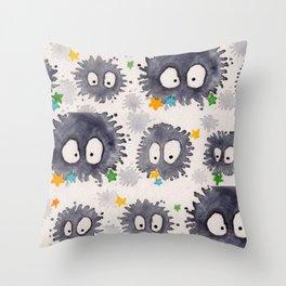 kompeito Throw Pillow