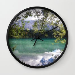 When Nature Sings Her Lullaby Wall Clock