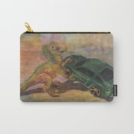 Dino Toy with Mustang Carry-All Pouch