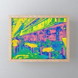 Paris Cafe Framed Mini Art Print