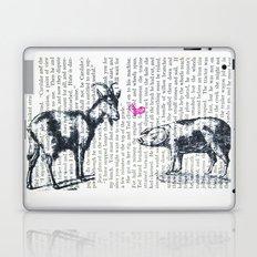Goat Pig Love Laptop & iPad Skin