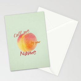 Call Me By Your Name - minimalist poster Stationery Cards