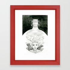 Bottled Framed Art Print