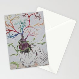 Skull II Stationery Cards