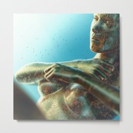 [28-07-16] - AVA Metal Print