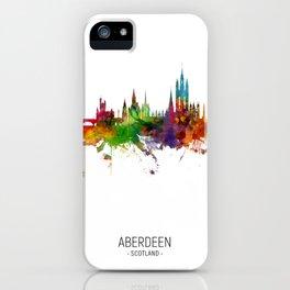 Aberdeen Scotland Skyline iPhone Case