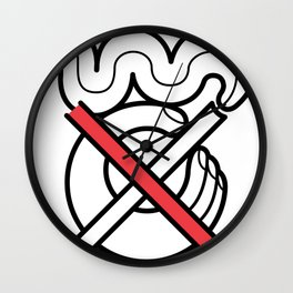 No Fumar/No Smoking Wall Clock