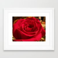 grace Framed Art Prints featuring Grace by DesignsByMarly