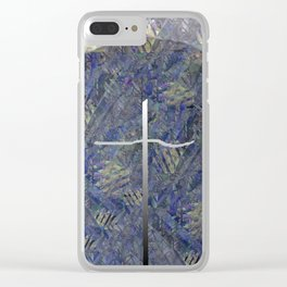 Deism Clear iPhone Case