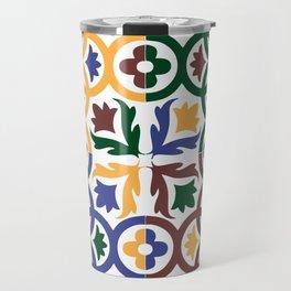 Andalusian Tiles 3 Travel Mug