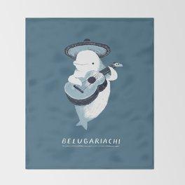 belugariachi Throw Blanket