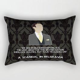 A Scandal in Belgravia - Mycroft Holmes Rectangular Pillow