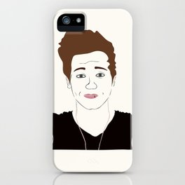 LUK E iPhone Case