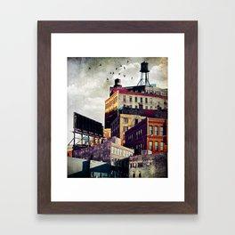 The Rooftop #3 Framed Art Print