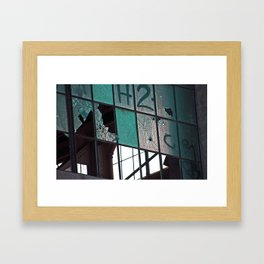 Cracks Framed Art Print