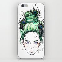 pride iPhone & iPod Skins featuring Pride by Nora Bisi