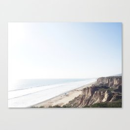 California Snap Shot Canvas Print
