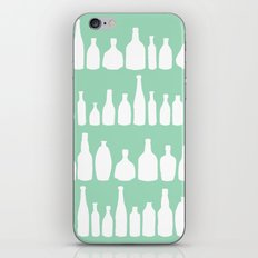 Bottles Mint iPhone & iPod Skin