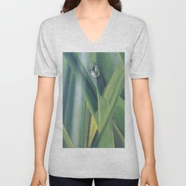 A drop of water Unisex V-Neck