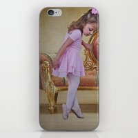 ballerina iPhone & iPod Skins featuring Ballerina by Shalisa Photography