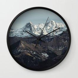 Mountain Mood II Wall Clock
