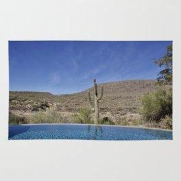Water- Pool View Rug