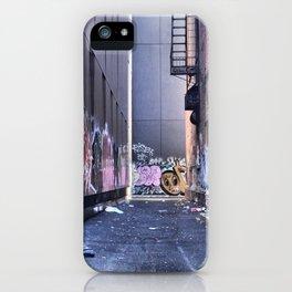 A Jumble, Graffiti NYC iPhone Case