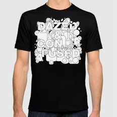 Dazed and Confused Black Mens Fitted Tee LARGE