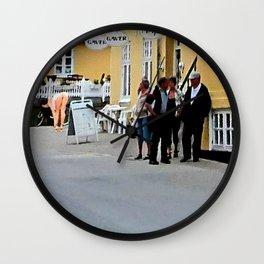 Das Stadtgespraech Wall Clock