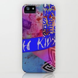 Tokyo tags iPhone Case