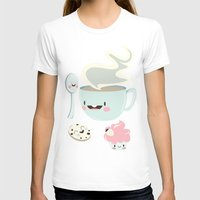 coffee T-shirts featuring Coffee! by Gina Mayes