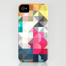 color story - pixelated warfare iPhone (4, 4s) Slim Case
