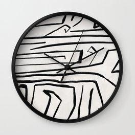 Modern improvisation 02 Wall Clock