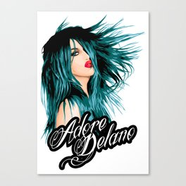 Adore Delano, RuPaul's Drag Race Queen Canvas Print