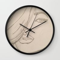 jojo Wall Clocks featuring JoJo by Art By JuJu