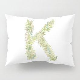 Initial K Pillow Sham