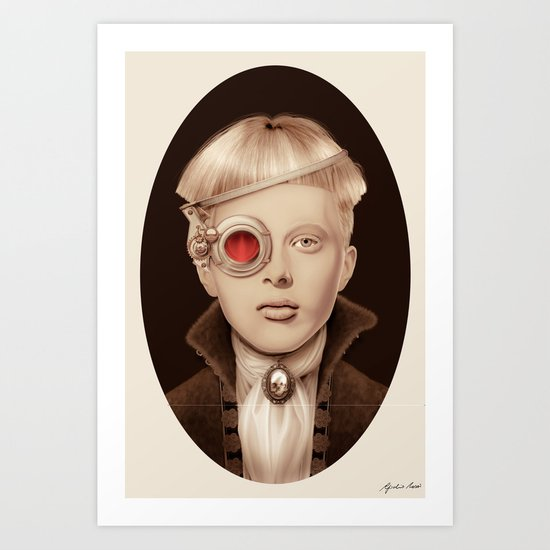 """Steampunk"" Art Print"