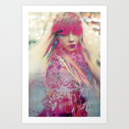 Hey, Blondie Art Print