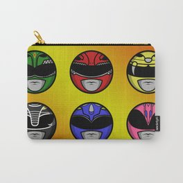 Mighty Morphin Power Ranger Headz Carry-All Pouch