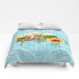 hayzy lazy hounds Comforters